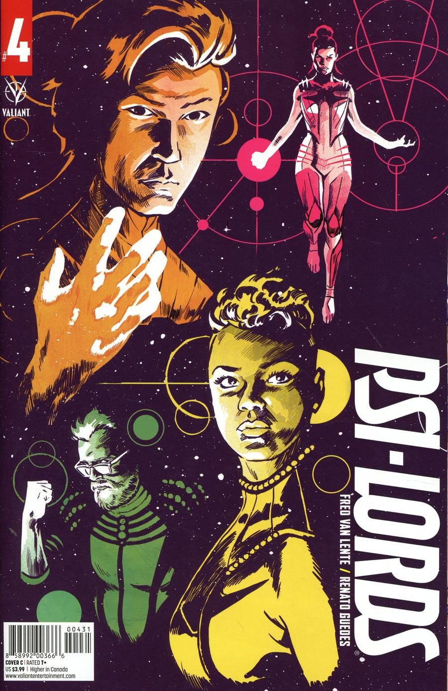 Psi-Lords Vol 2 #4 Cover C Variant Michael Walsh Cover