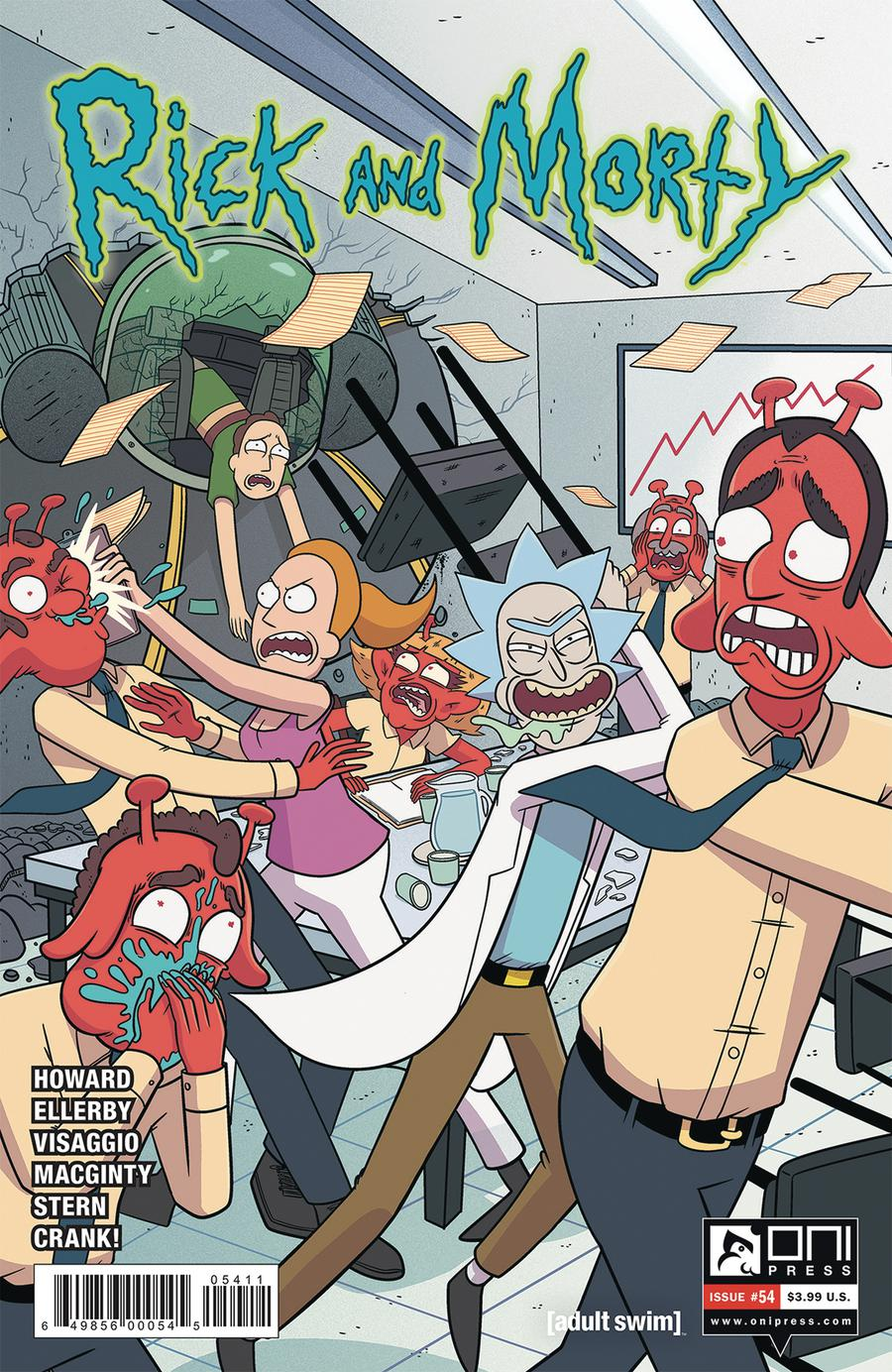Rick And Morty #54 Cover A Regular Marc Ellerby Cover