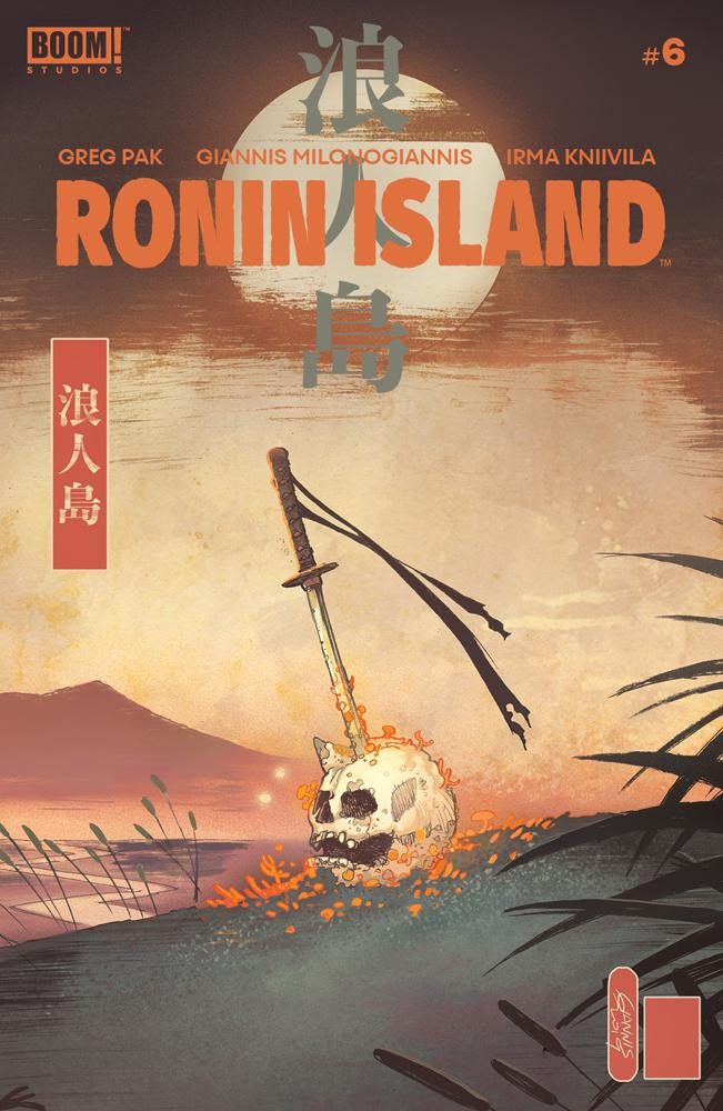 Ronin Island #6 Cover A Regular Giannis Milonogiannis Cover