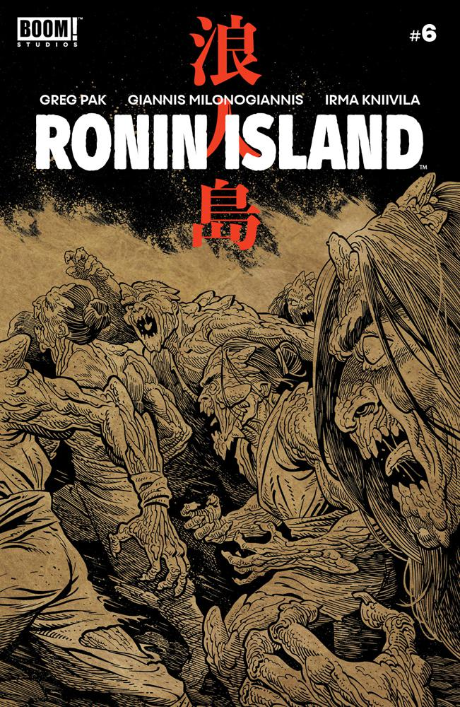 Ronin Island #6 Cover B Variant Ethan Young Preorder Cover
