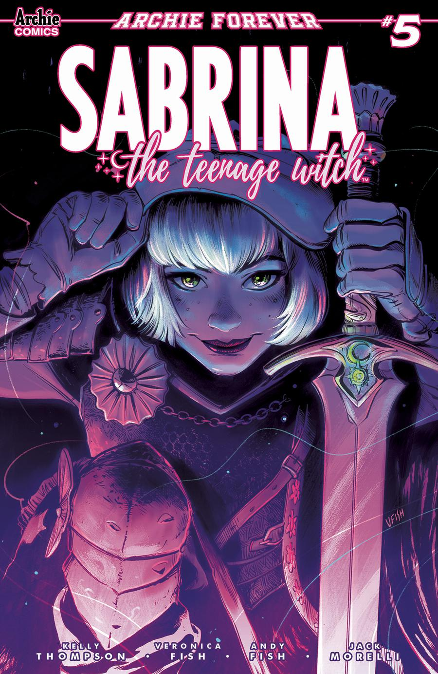 Sabrina The Teenage Witch #5 Cover A Regular Veronica Fish Cover