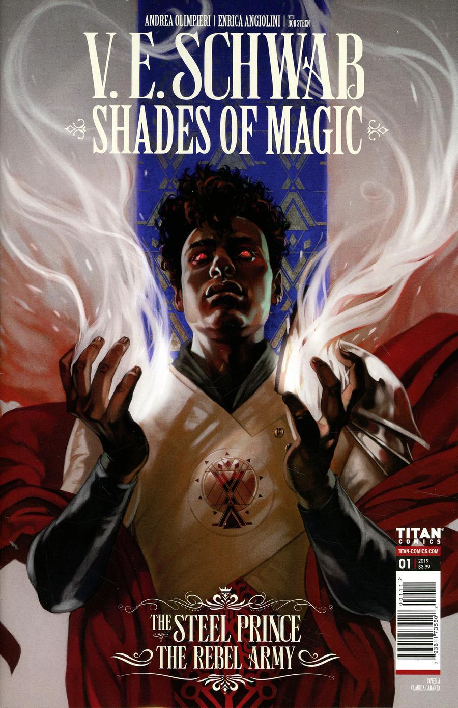 Shades Of Magic Steel Prince Rebel Army #1 Cover A Regular Claudia Ianniciello Cover