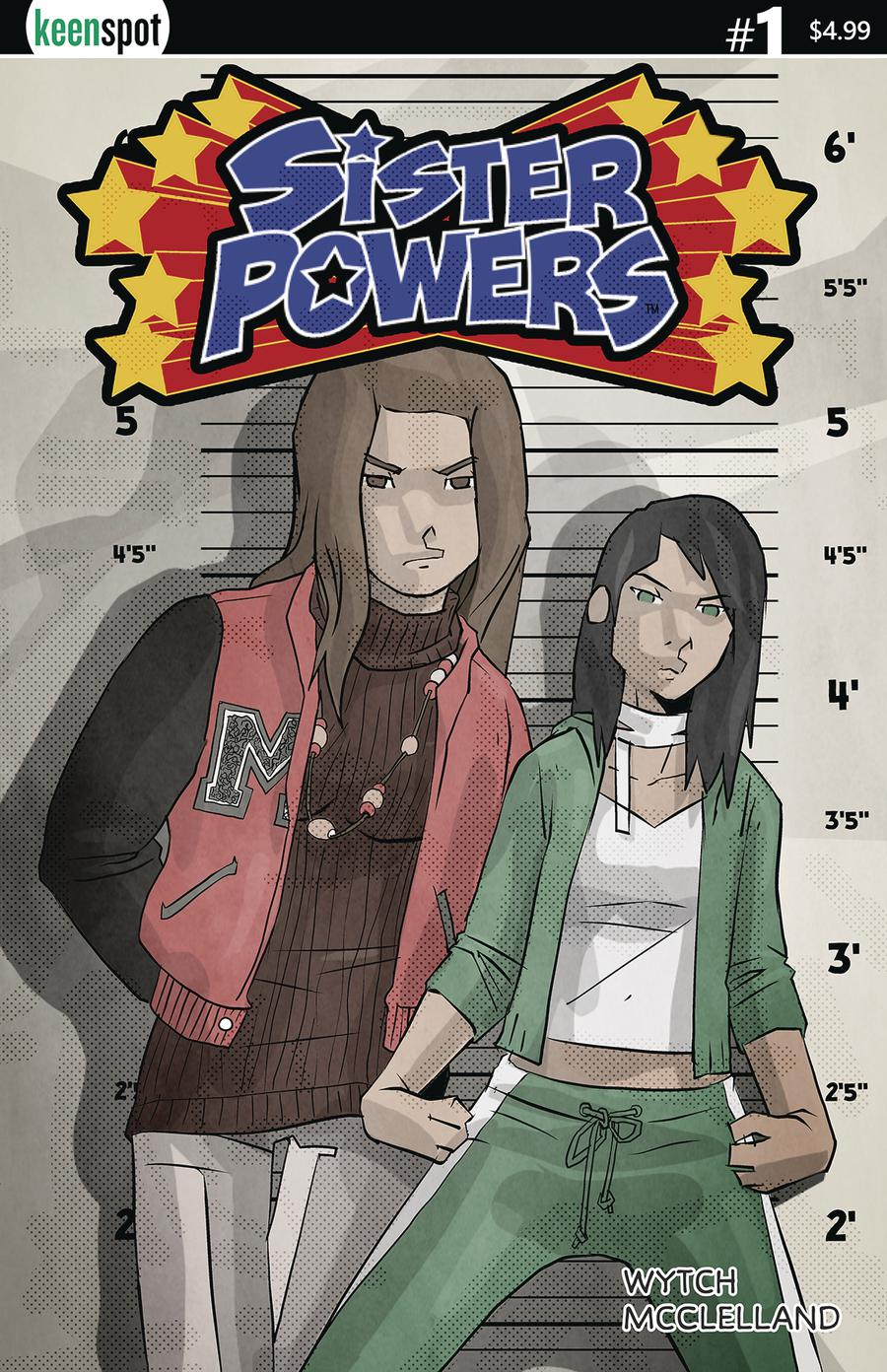 Sister Powers #1 Cover A Regular Mario Wytch Cover