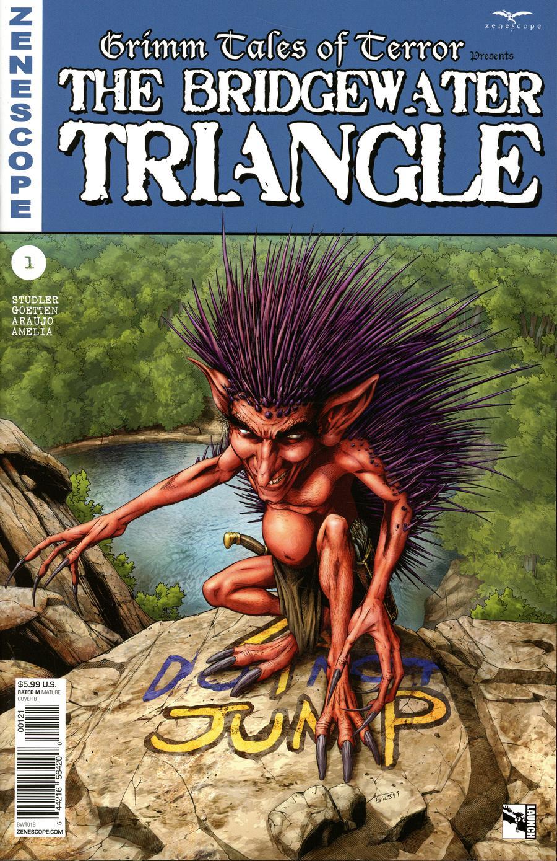 Grimm Tales Of Terror Presents Bridgewater Triangle #1 Cover B Eric J