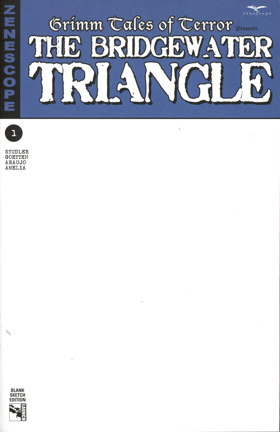 Grimm Tales Of Terror Presents Bridgewater Triangle #1 Cover E Blank