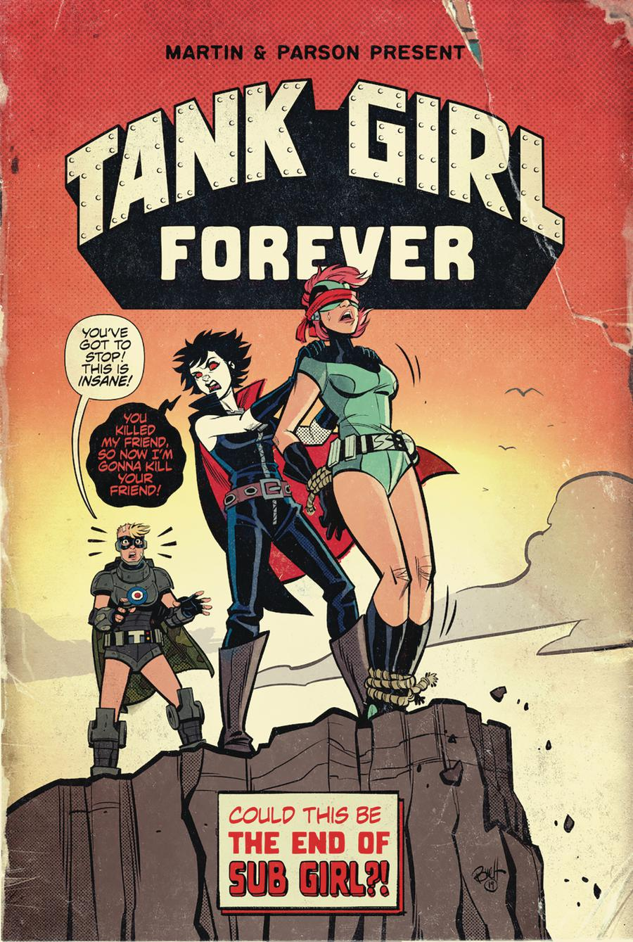 Tank Girl Vol 3 #7 Cover A Regular Brett Parson Cover