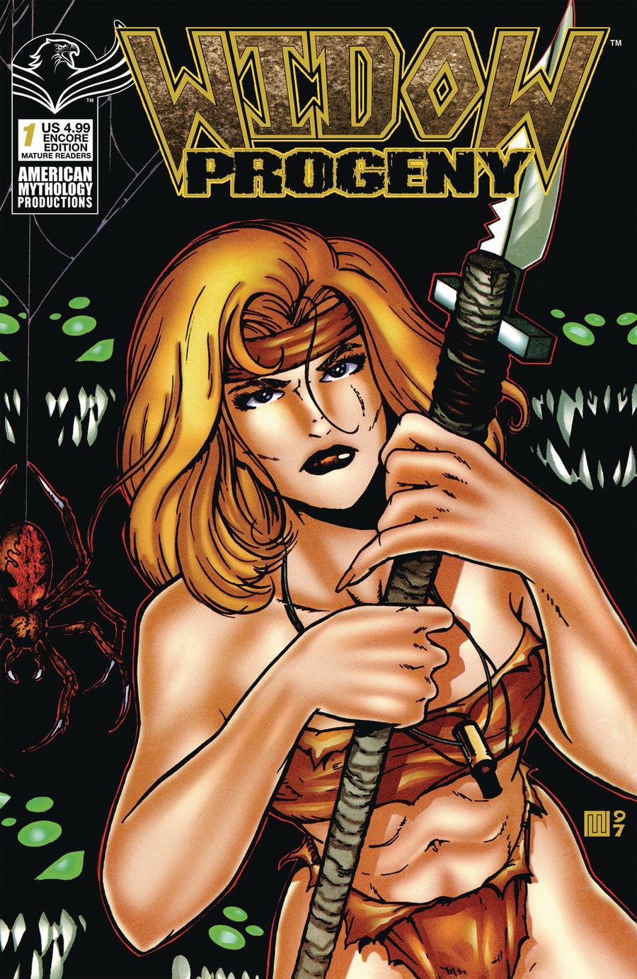 Widow Progeny #1 Cover C American Mythology Encore Edition
