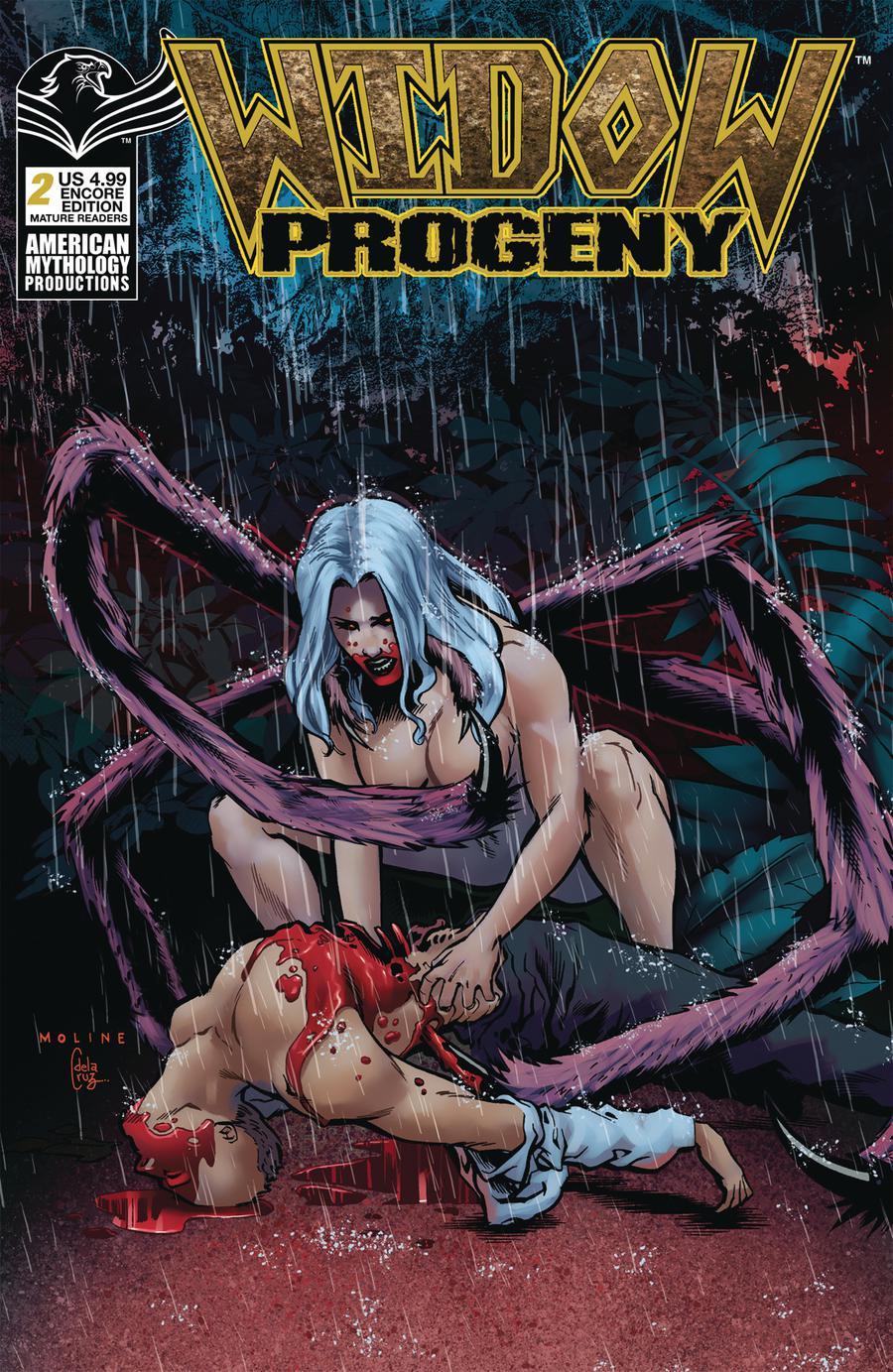 Widow Progeny #2 Cover C American Mythology Encore Edition