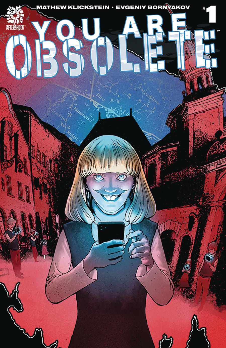 You Are Obsolete #1 Cover A Regular Andy Clarke Cover