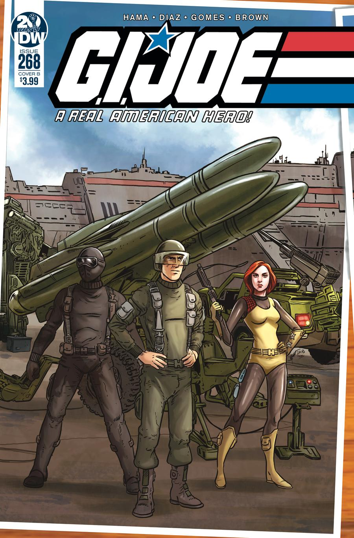 GI Joe A Real American Hero #268 Cover B Variant Jamie Sullivan Cover