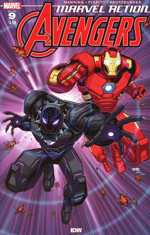 Marvel Action Avengers #9 Cover A Regular Jon Sommariva Cover