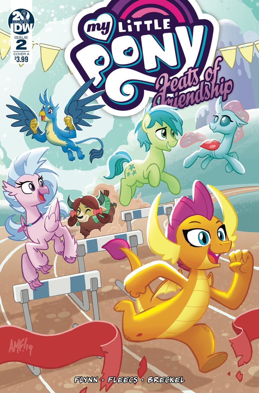 My Little Pony Feats Of Friendship #2 Cover A Regular Tony Fleecs Cover