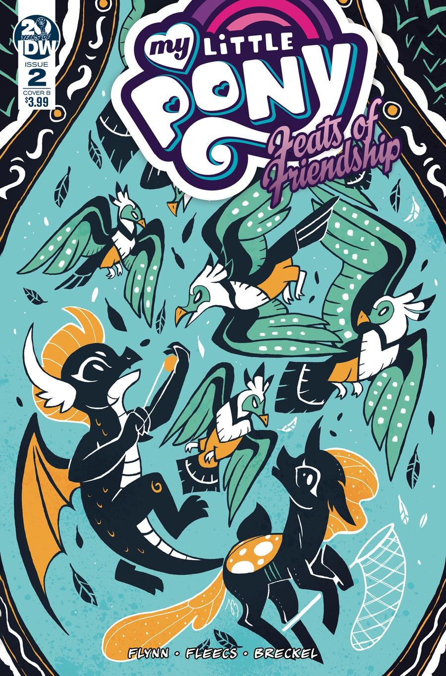 My Little Pony Feats Of Friendship #2 Cover B Variant JustaSuta Cover