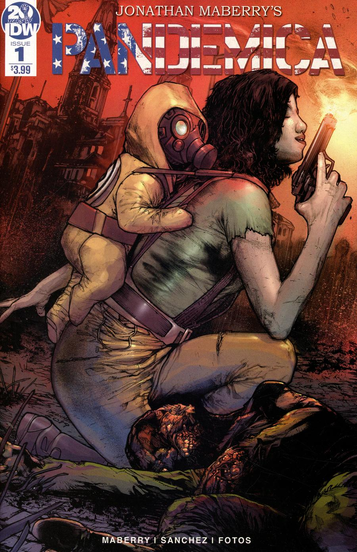 Pandemica #1 Cover A Regular Alex Sanchez Cover