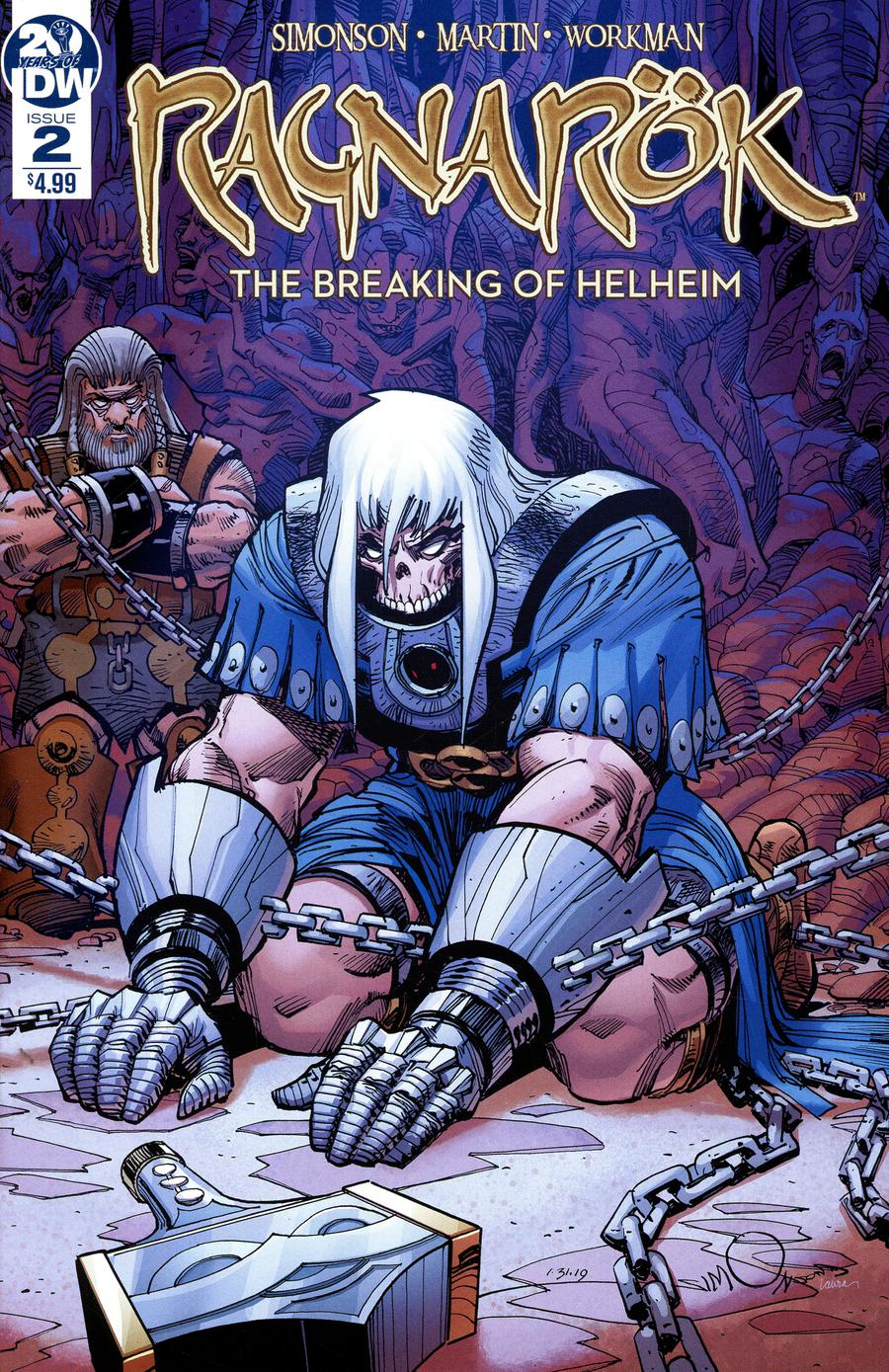 Ragnarok Breaking Of Helheim #2 Cover A Regular Walter Simonson Cover