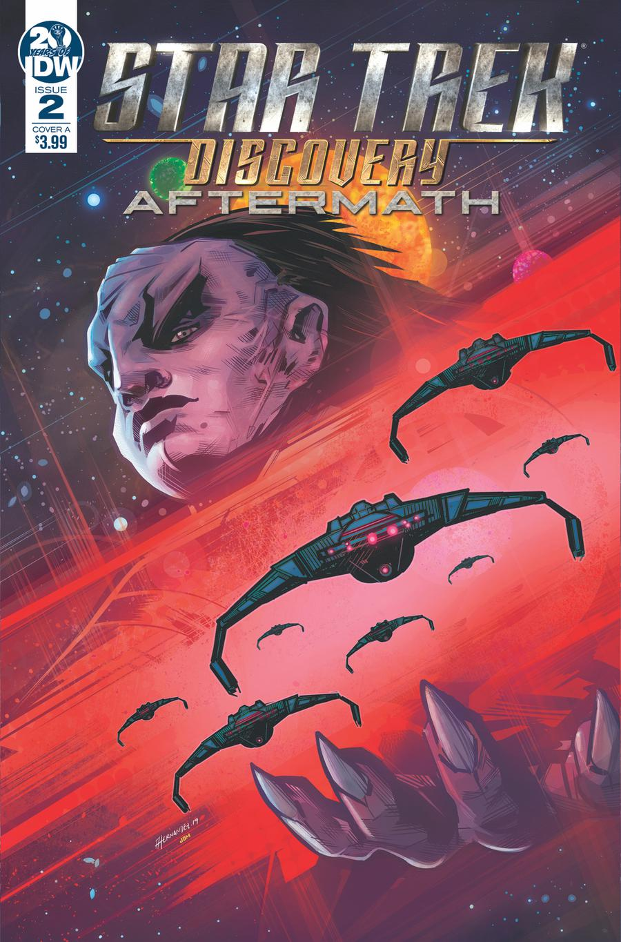 Star Trek Discovery Aftermath #2 Cover A Regular Angel Hernandez Cover
