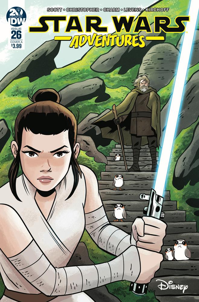 Star Wars Adventures #26 Cover A Regular Derek Charm Cover