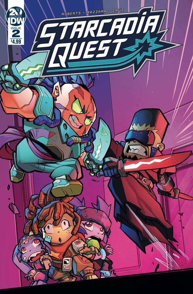 Starcadia Quest #2 Cover A Regular Aurelio Mazzara Cover