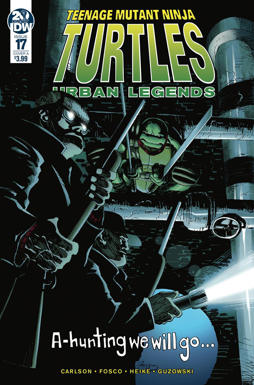 Teenage Mutant Ninja Turtles Urban Legends #17 Cover A Regular Frank Fosco Cover