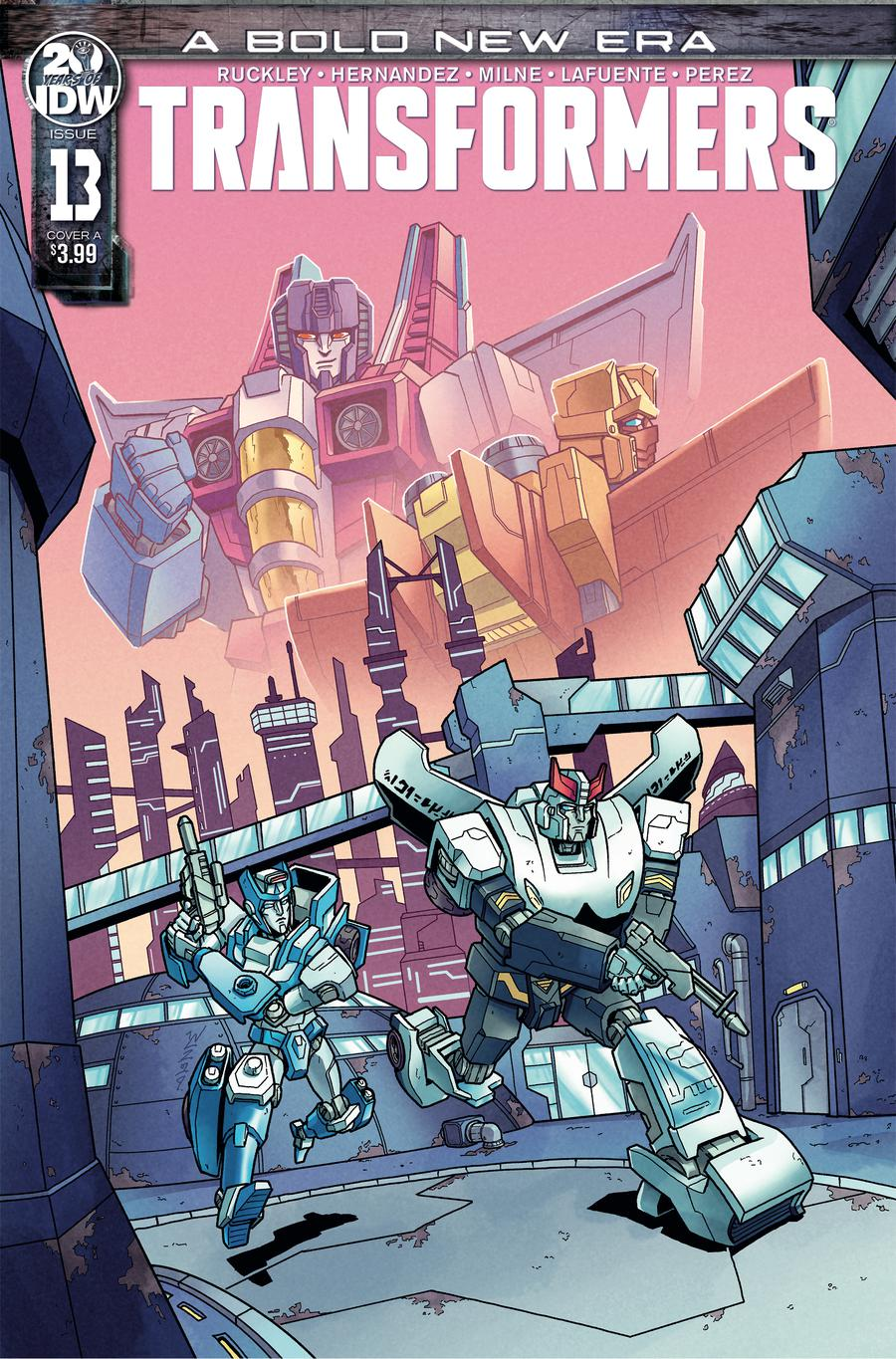 Transformers Vol 4 #13 Cover A Regular Winston Chan Cover