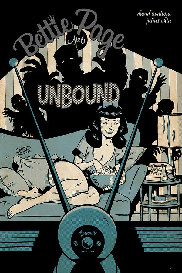 Bettie Page Unbound #6 Cover B Variant Scott Chantler Cover