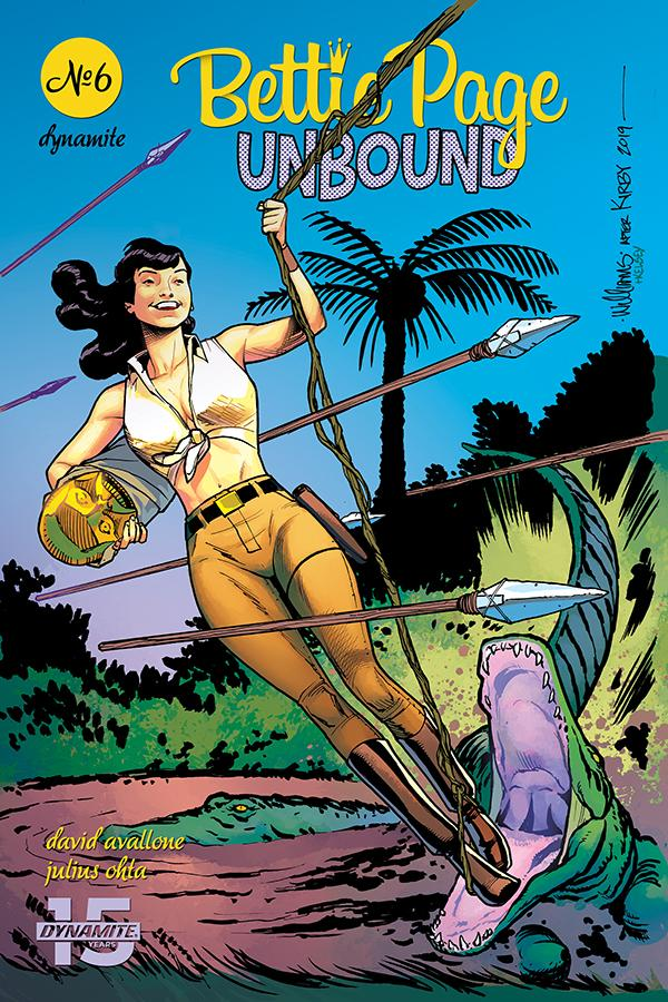 Bettie Page Unbound #6 Cover C Variant David Williams Cover