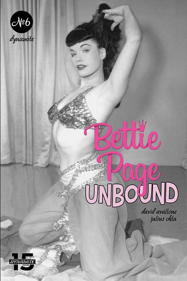 Bettie Page Unbound #6 Cover E Variant Photo Cover