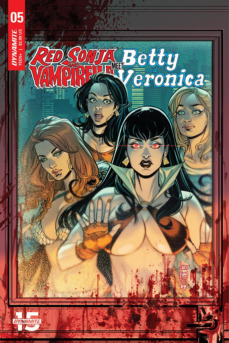 Red Sonja And Vampirella Meet Betty And Veronica #5 Cover C Variant Laura Braga Cover