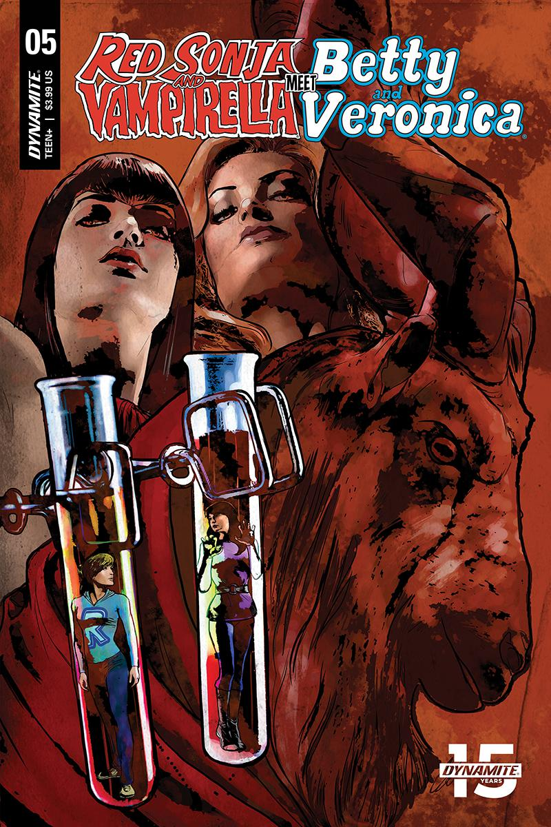 Red Sonja And Vampirella Meet Betty And Veronica #5 Cover E Variant Cat Staggs Cover