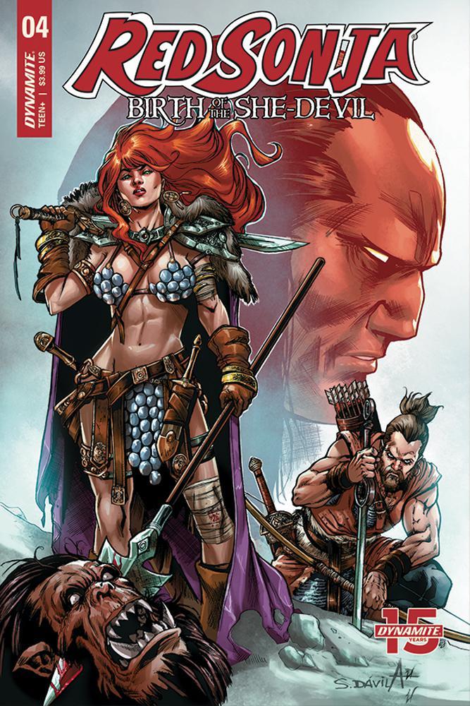 Red Sonja Birth Of The She-Devil #4 Cover B Variant Sergio Davila Cover