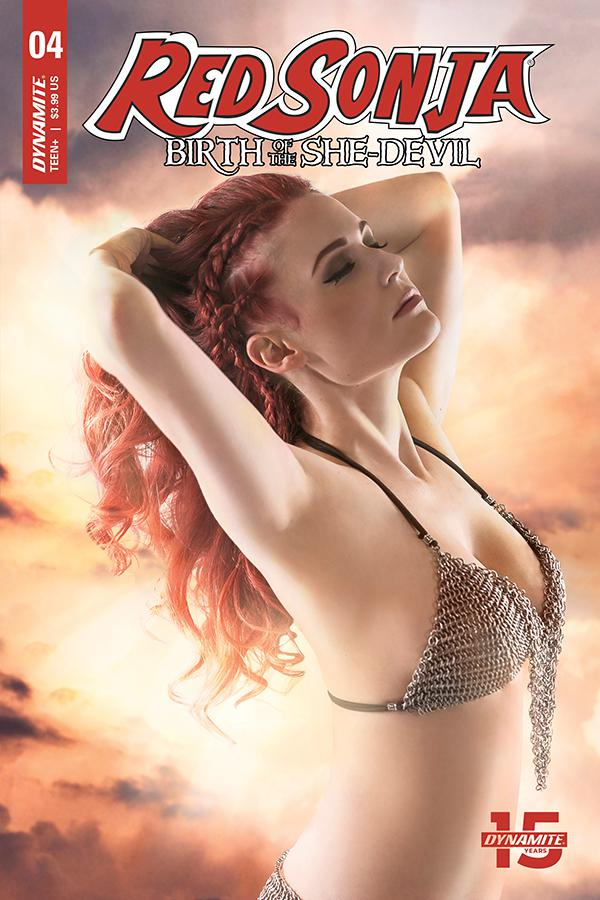Red Sonja Birth Of The She-Devil #4 Cover C Variant Cosplay Photo Cover