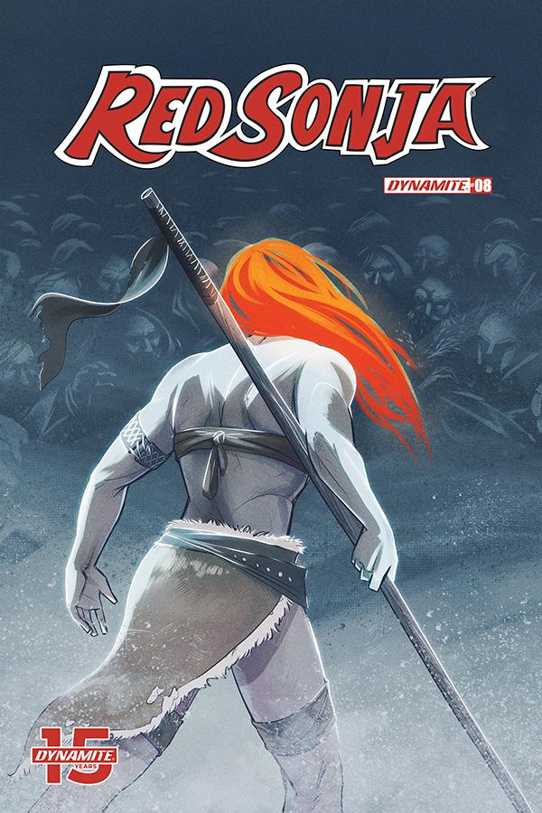 Red Sonja Vol 8 #8 Cover D Variant Katie Omeara Cover