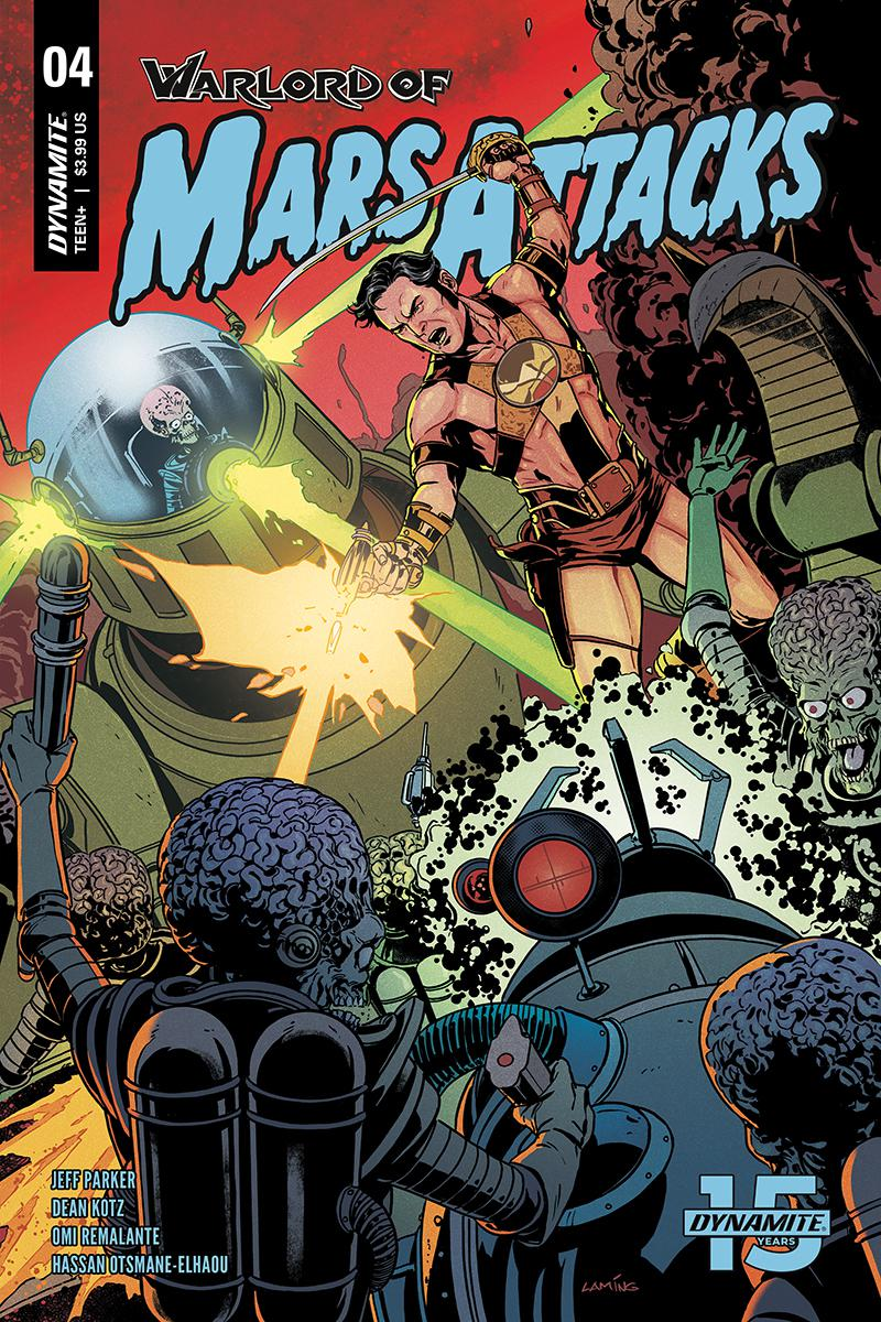Warlord Of Mars Attacks #4 Cover B Variant Marc Laming Cover