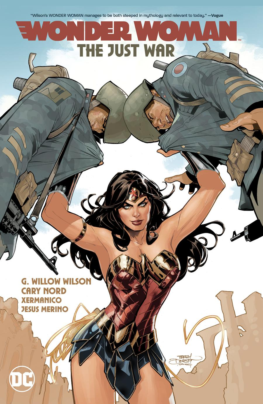 Wonder Woman (2018) Vol 1 The Just War HC