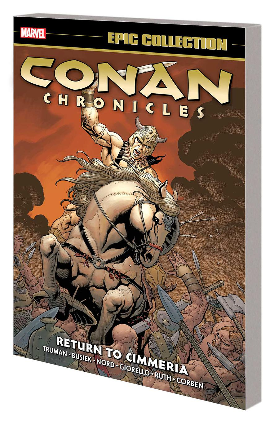 Conan Chronicles Epic Collection Vol 3 Return To Cimmeria TP