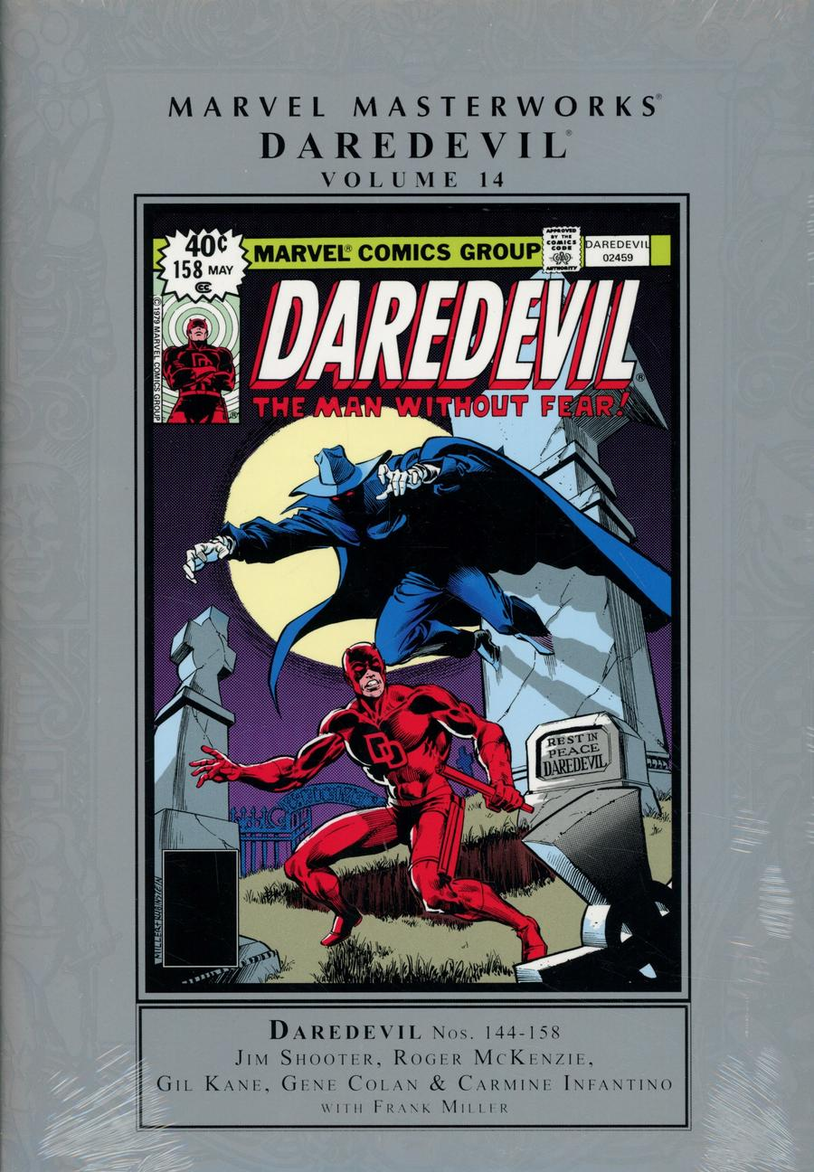 Marvel Masterworks Daredevil Vol 14 HC Regular Dust Jacket