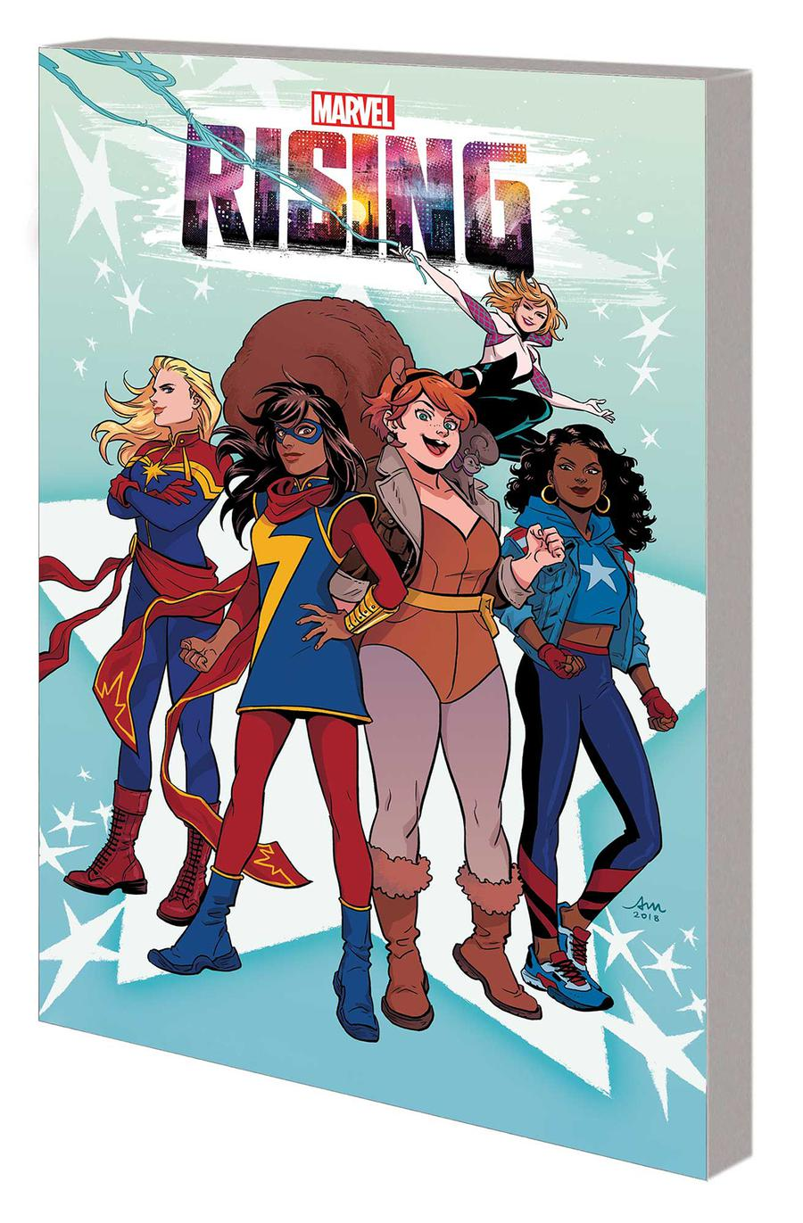 Marvel Rising Heroes Of The Round Table GN
