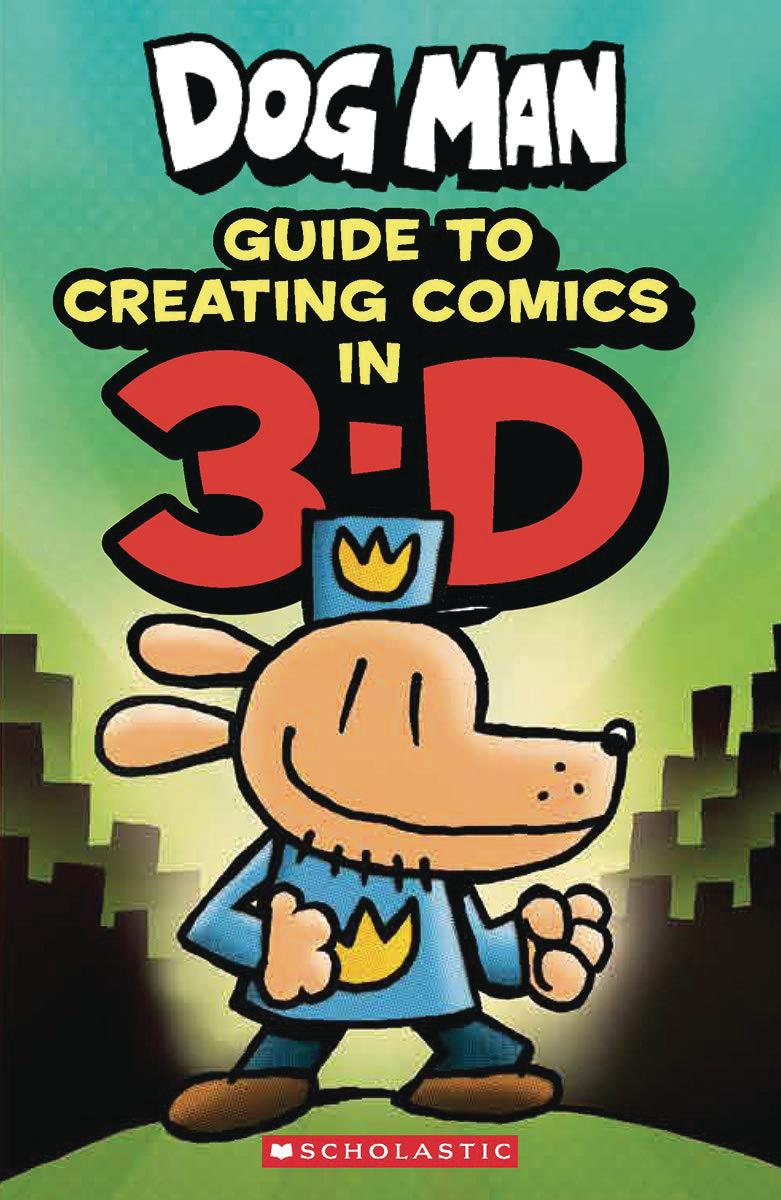 Dog Man Guide To Creating Comics In 3-D HC