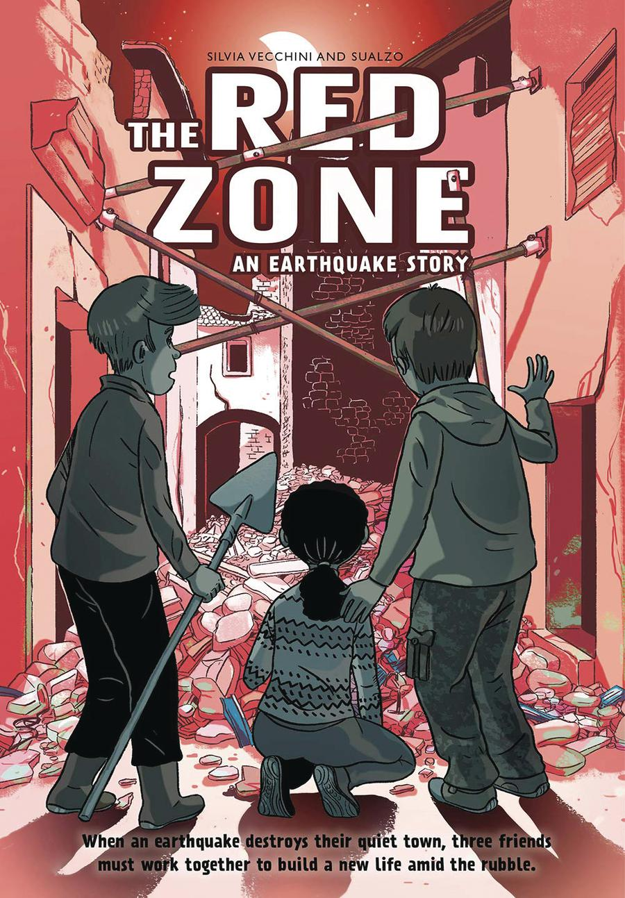 Red Zone Vol 1 An Earthquake Story HC