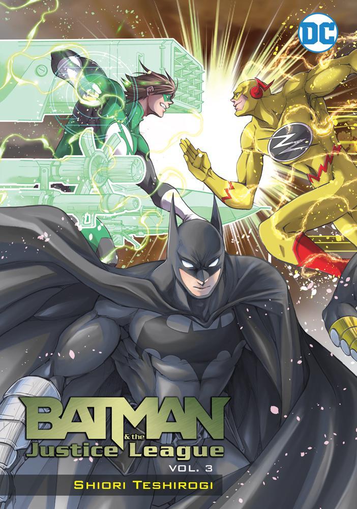Batman And The Justice League Manga Vol 3 TP