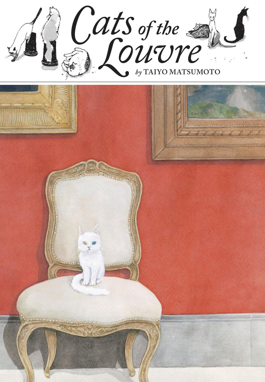 Cats Of The Louvre HC
