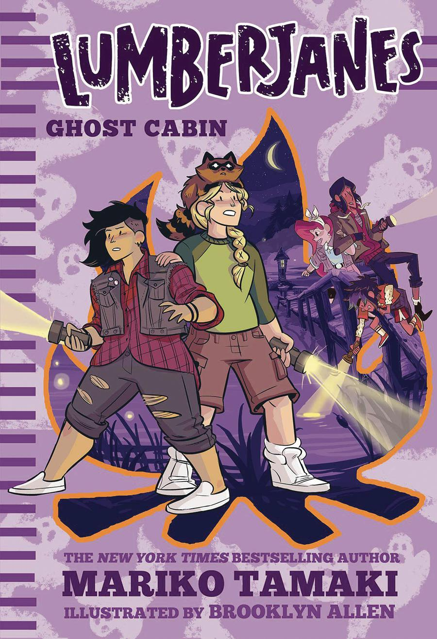Lumberjanes Illustrated Novel Vol 4 Ghost Cabin HC