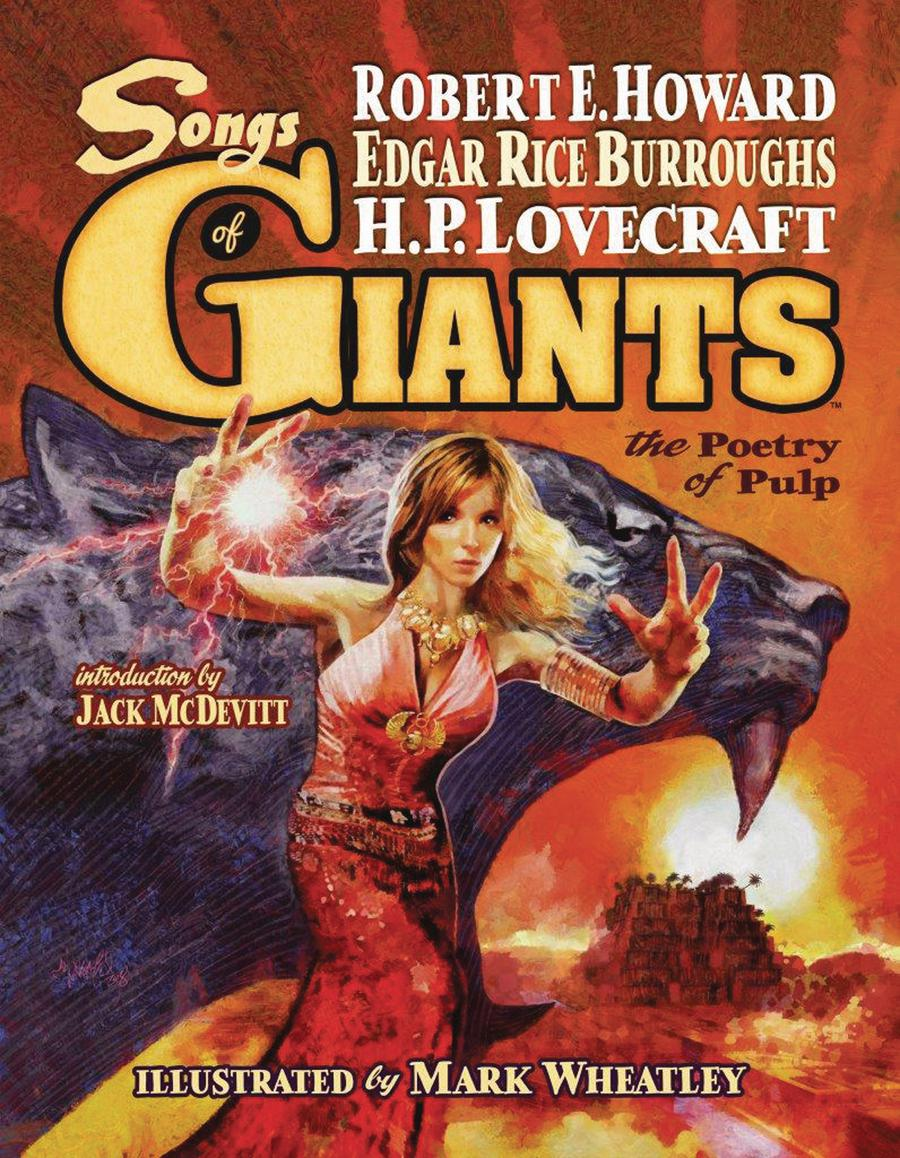 Songs Of Giants Poetry Of Pulp HC