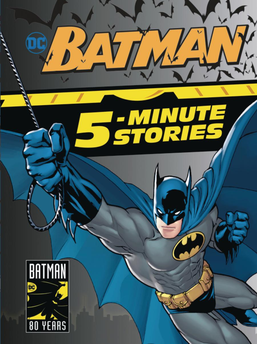Batman 5-Minute Stories HC
