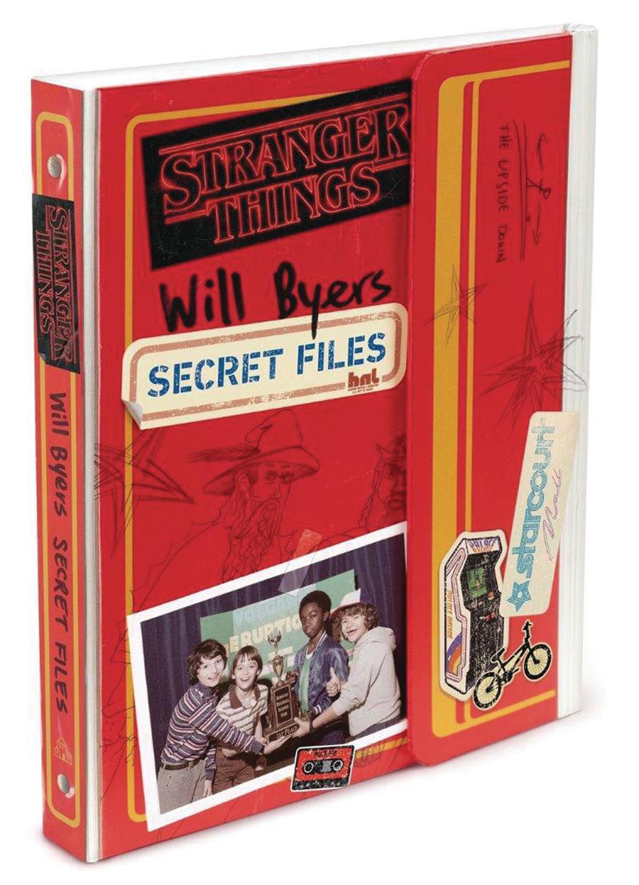 Stranger Things Will Byers Secret Files HC