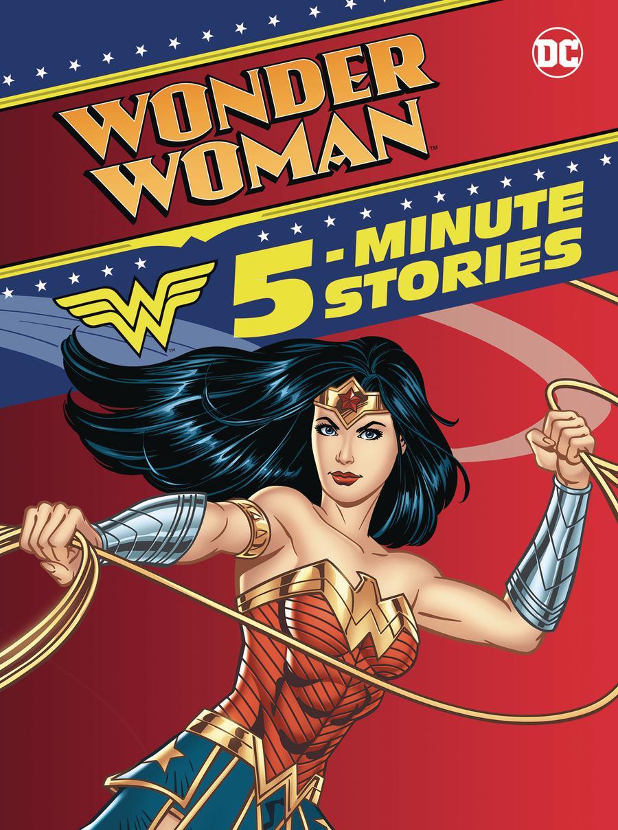 Wonder Woman 5-Minute Stories HC