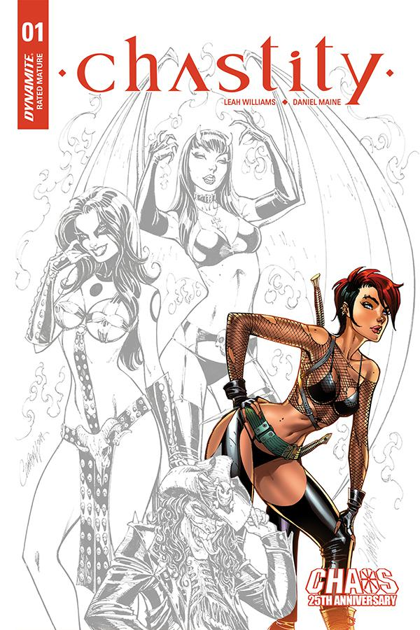 Chastity Vol 2 #1 Cover F Incentive J Scott Campbell Carve Out Variant Cover
