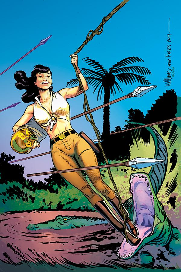 Bettie Page Unbound #6 Cover I Incentive David Williams Virgin Cover