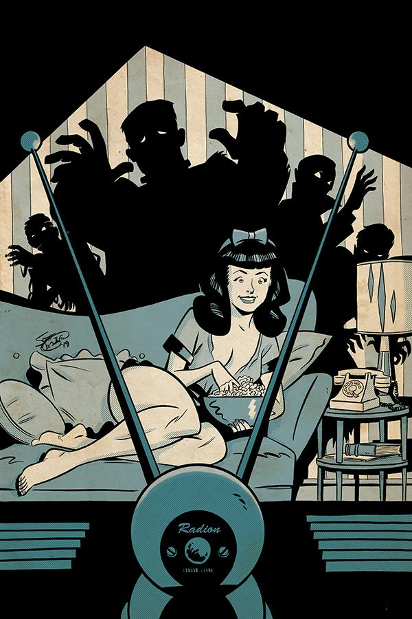 Bettie Page Unbound #6 Cover L Incentive Scott Chantler Virgin Cover