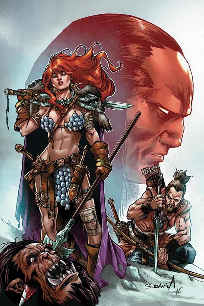 Red Sonja Birth Of The She-Devil #4 Cover D Incentive Sergio Davila Virgin Cover